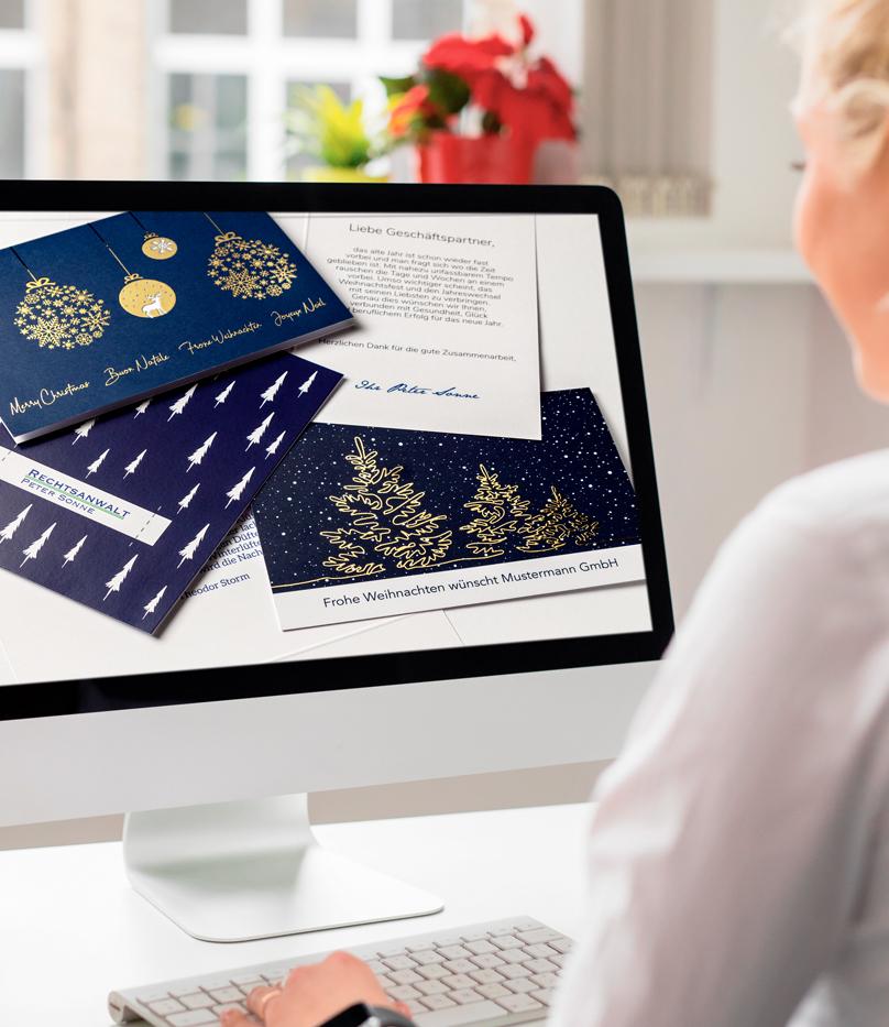 Firmen Weihnachtskarten Selbst Gestalten.Weihnachtskarten Firmen Geschäftlich
