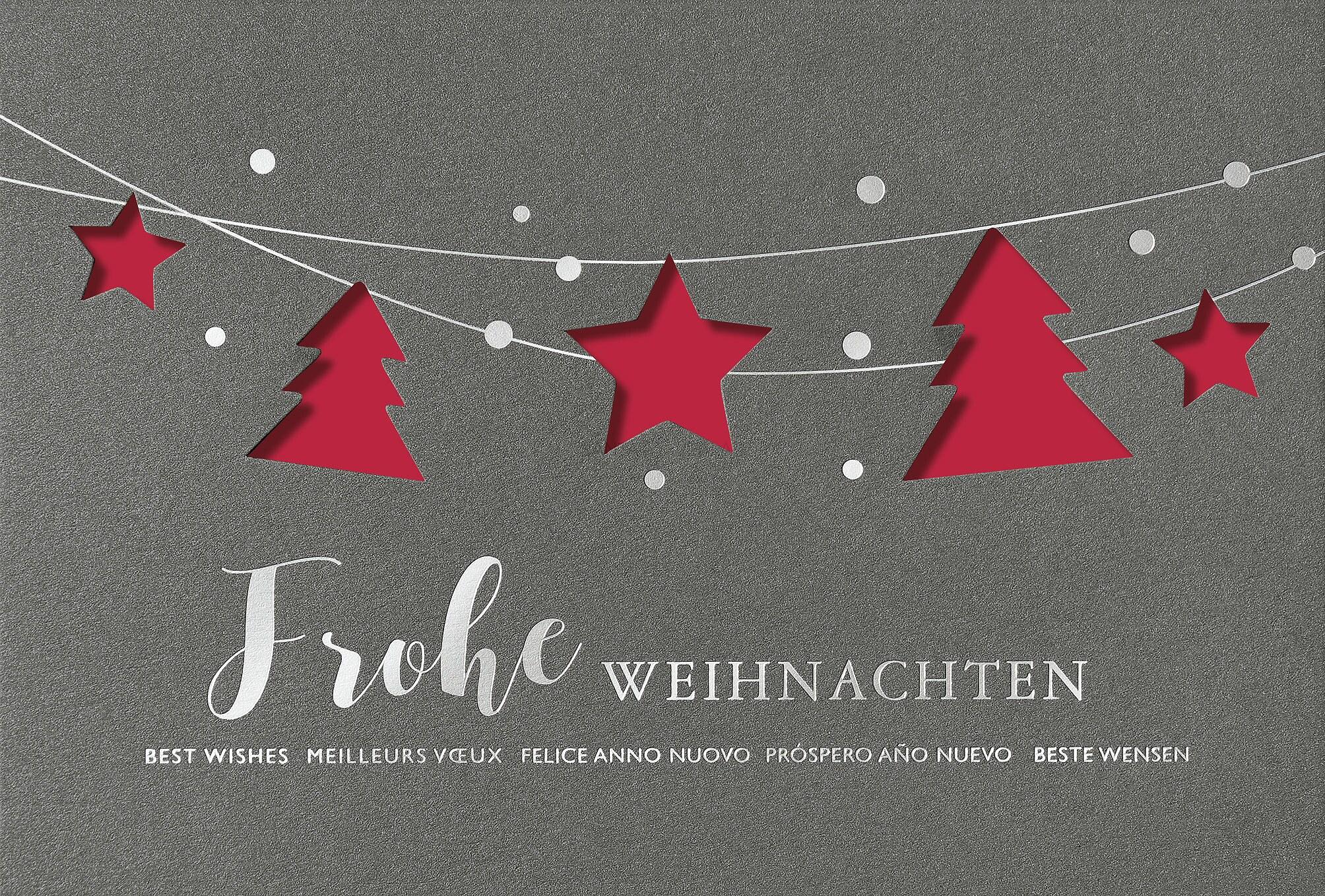 elektronische weihnachtskarte