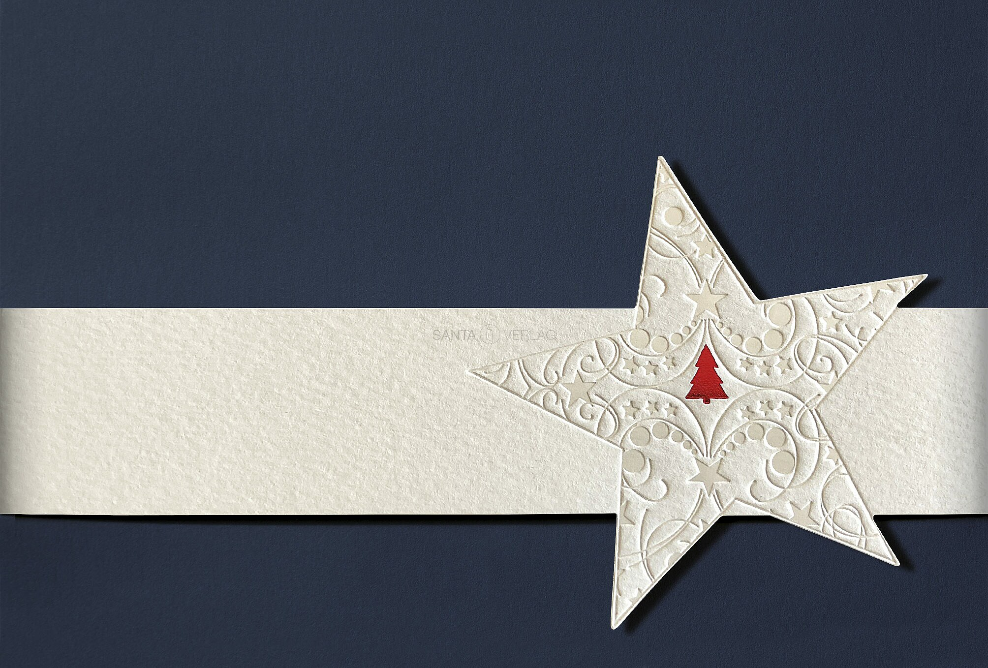 Weihnachtskarten mit Banderole inkl. Kuvert (Weihnachtskarten)