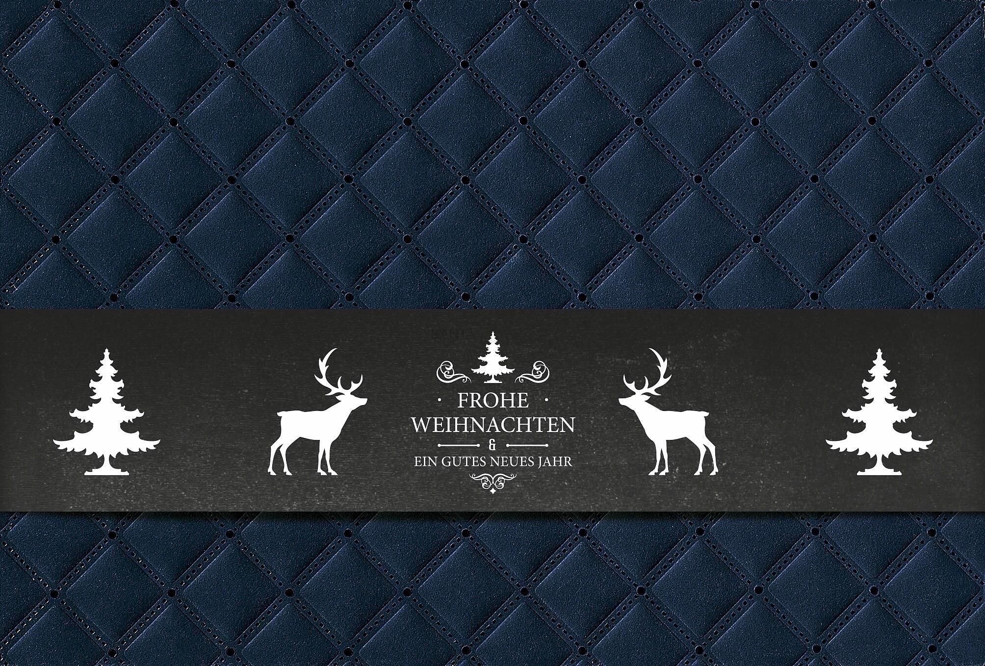 weihnachtskarte mit banderole inkl kuvert archiv. Black Bedroom Furniture Sets. Home Design Ideas